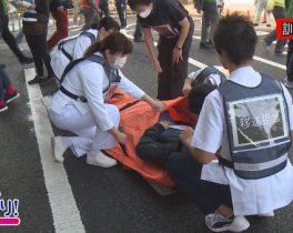昭和大学藤が丘病院 地域合同防災訓練 ほか12/8放送内容
