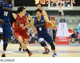 男子プロバスケットボール B.LEAGUE 2016-17シーズン