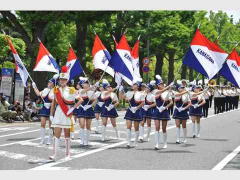 横浜開港記念みなと祭 ザよこはまパレード(国際仮装行列)
