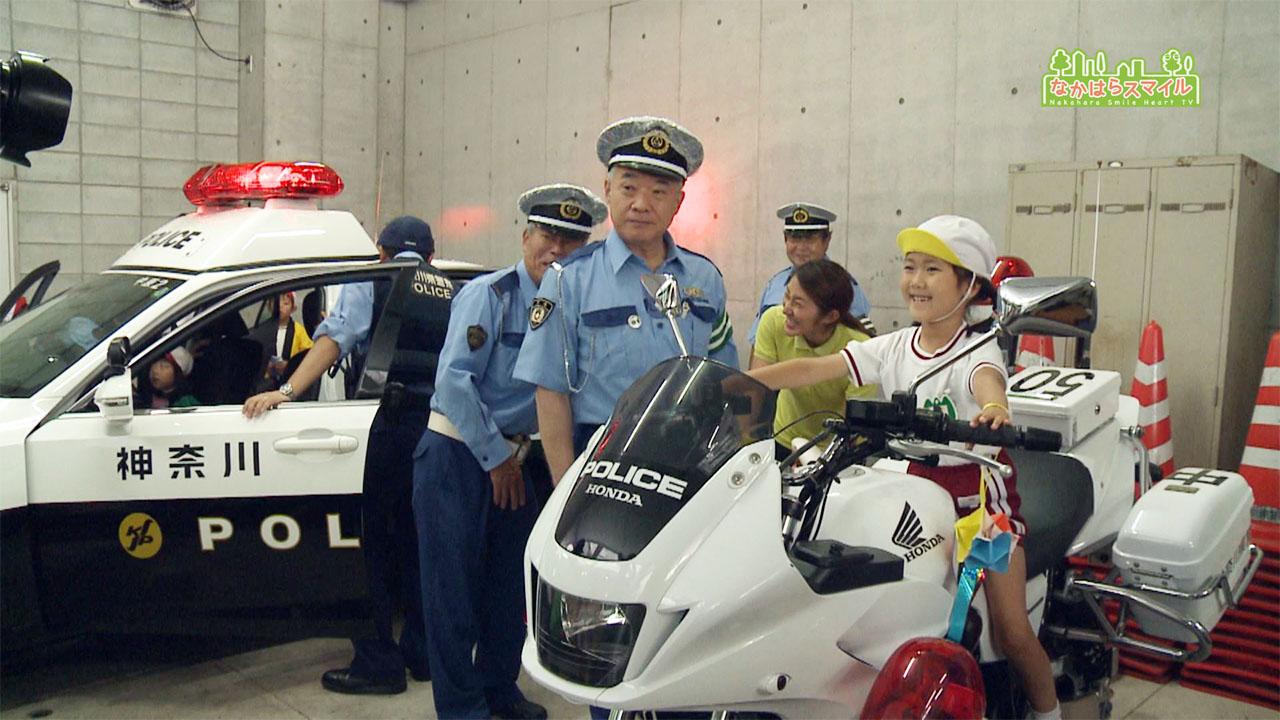 中原警察署の七夕飾り