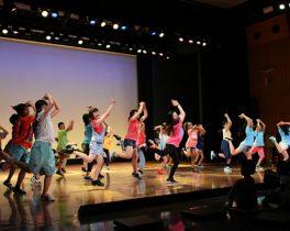 『子どものためのダンスワークショップ』練習成果を披露!