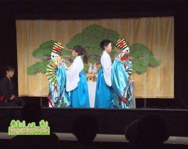「ひとみ座乙女文楽教室発表会」を取材しました!