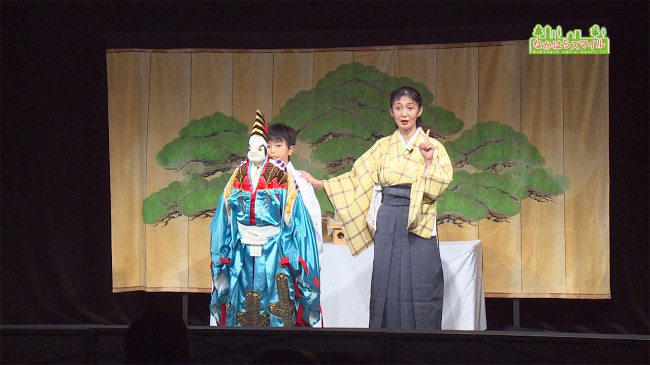 ひとみ座乙女文楽教室発表会
