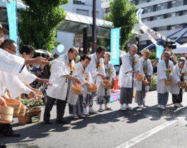 祭りは熱く!打ち水は涼しく!~「大蒲田祭」開催~