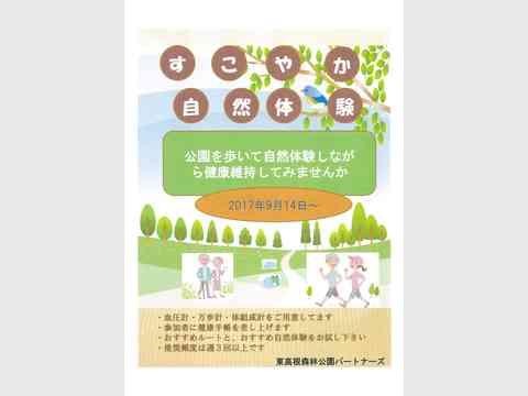 すこやか自然体験(東高根森林公園)