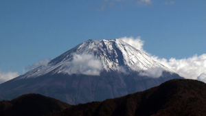 富士山周辺の紅葉と身延山