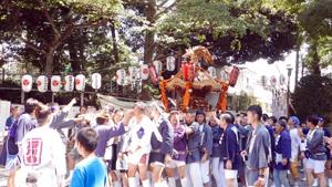 八幡神社のお祭り