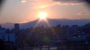 ダイアモンド富士山