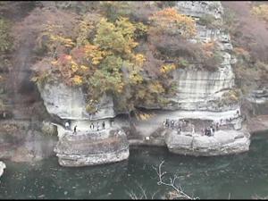 紅葉をたずねて 大内宿・塔のへつり
