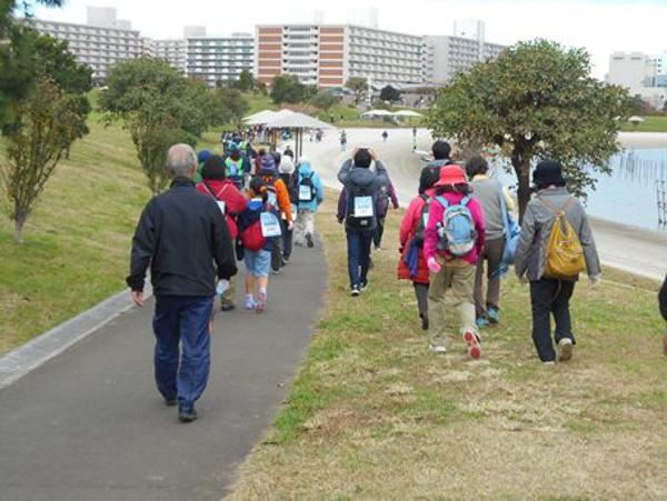 東京2020公認プログラム『 OTAウォーキング~新スポーツ健康ゾーンを巡る~』