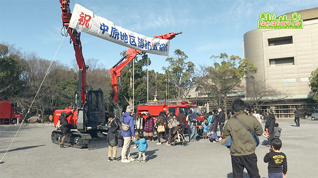 中原地区消防出初式