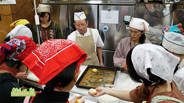 菓子パン作り教室