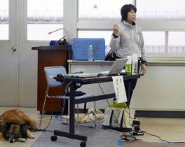 「平成29年度犬のしつけ方教室『犬と楽しく暮らすために』」を取材しました!