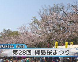 第28回綱島桜まつりほか4/3放送内容(11ch)