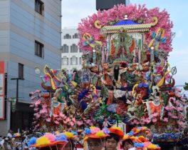 夏燃ゆる日本一の山車まつり 八戸三社大祭 2018
