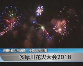 多摩川花火大会ほか10/15放送内容(11ch)