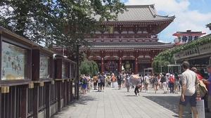 江戸古地図で巡る東京の街並み浅草編