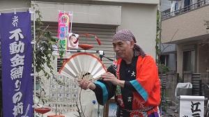 新田神社・17・2 大道芸