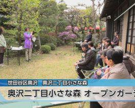 奥沢二丁目小さな森 オープンガーデンほか4/19放送内容(11ch)