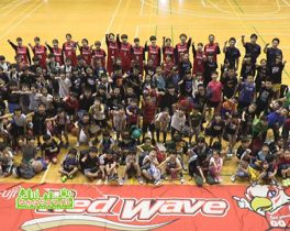 「富士通レッドウェーブ バスケットボール教室」を取材しました!