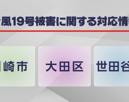 台風19号被害に関する対応情報ほか10/17放送内容(11ch)
