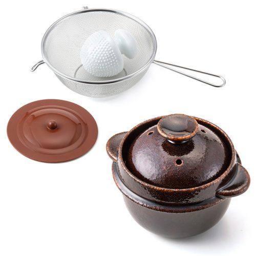 クリヤマ レンジで簡単 調理も出来る玄米炊飯セット_1