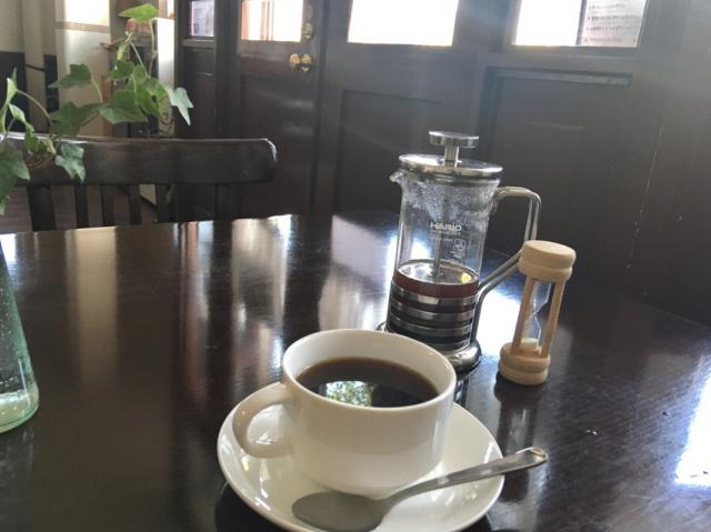 ②コーヒー・内観