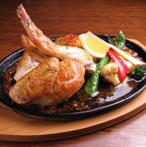 ④料理ローストチキン