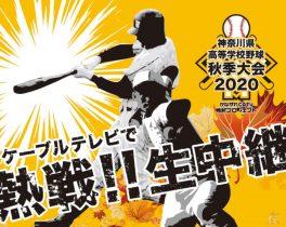 神奈川県高等学校野球秋季大会 準決勝・決勝  生中継