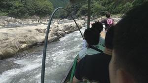 2017保津川下り