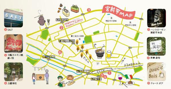 宮前平map