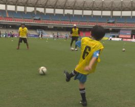 「川崎フロンターレサッカー教室」を取材しました!