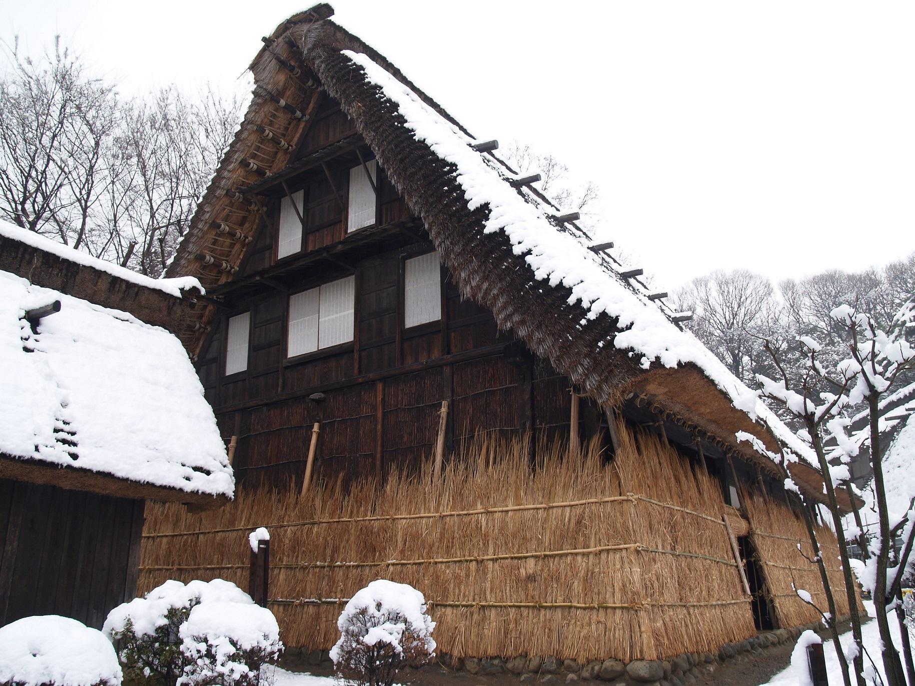 《イベント情報》日本民家園 特別展示「雪囲い-旧山田家-」