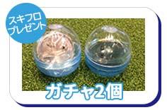 【プレゼント】ガチャ2個
